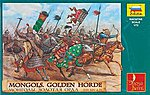 Mongols Golden Horde XIII-XIV AD (17 Mtd) -- Plastic Model Military Figure -- 1/72 Scale -- #8076