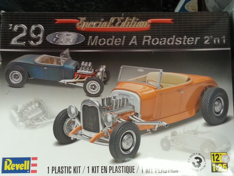Revell-Monogram 1/25 1929 Model A Roadster