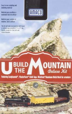 American Art Clay Co. U Build Mountain Kit -- Model Railroad Scenery Supply -- #41830n