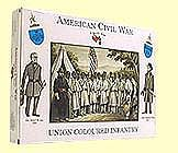 A Call To Arms American Civil War- Union Colored Infantry (16) -- Plastic Model Military Figure -- 1/32 -- #11