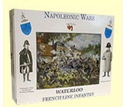 A Call To Arms Napoleonic Wars- French Line Infantry (16) (Re-Issue) -- Plastic Model Military Figure -- 1/32 -- #1