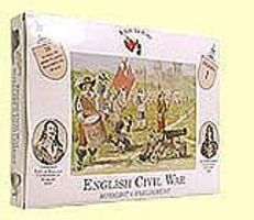 A-Call-To-Arms English Civil War- Royalist vs. Parliament Plastic Model Military Figure 1/32 #1