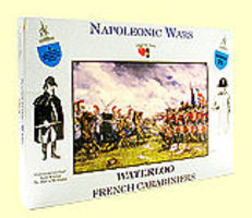 A-Call-To-Arms Napoleonic Wars- French Carabiniers (4 Mtd) Plastic Model Military Figure 1/32 Scale #21
