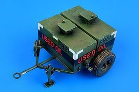 Aerobonus USAF 150 Gallon Oil Bowser Plastic Model Military Vehicle 1/32 Scale #320041
