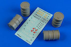 Aerobonus US 55 Gallon Vertical Position Barrels Plastic Model Military Diorama 1/32 Scale #320074
