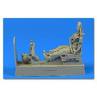 Aerobonus 1/32 USAF F100 Pilot w/Ejection Seat for TSM