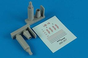 Aerobonus UB16-57 Soviet Rocket Launchers Plastic Model Aircraft Accessory 1/48 Scale #480007