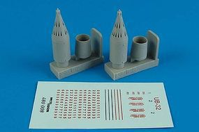 Aerobonus UB32 Soviet Rocket Launchers Plastic Model Aircraft Accessory 1/48 Scale #480008