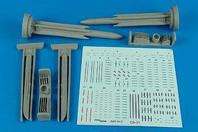 Aerobonus Ch31 (AS17 Krypton) Air-to-Surface Missile Plastic Model Aircraft Accessory 1/48 #480015