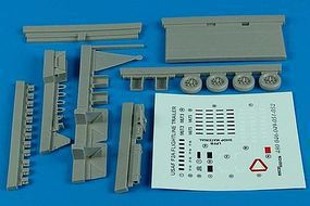 Aerobonus F2A (Steel Platform) Flightline Trailer Plastic Model Aircraft Accessory 1/48 #480046