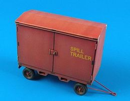 Aerobonus USAF F2A Spill Trailer Plastic Model Aircraft Accessory 1/48 Scale #480052