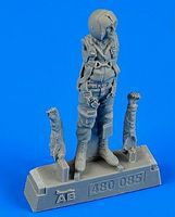 Aerobonus USAF Fighter Pilot Vietnam War 1960-75 Plastic Model Aircraft Accessory 1/48 #480085