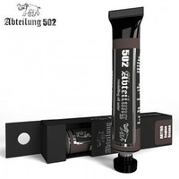 Abteilung Weathering Oil Paint Engine Grease 20 ml Tube Hobby and Model Oil Paint #160