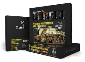 Abteilung Vehicle Weathering & Effect Oil Paint Set (6 Colors) 20ml Tubes