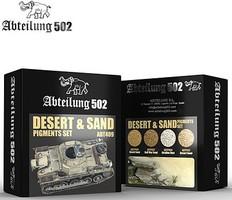 Abteilung Desert & Sand Pigment Set (4 Colors) 20ml Bottles