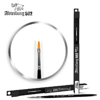 Abteilung Size 4 Synthetic Flat Brush