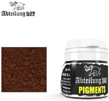 Abteilung Weathering Pigment Brown Rust 20ml Bottle