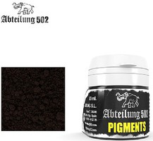 Abteilung Weathering Pigment Black Smoke 20ml Bottle