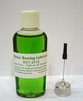 Aero-Car Technology Motor Bearing Lube 1oz. Bottle -- Model Train Track Accessory -- #2112