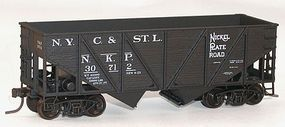 Accurail 55-Ton Wood-Side 2-Bay Hopper N.K.P. #30712 HO Scale Model Train Freight Car Kit #1209