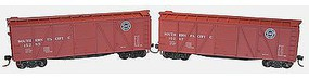 Accurail 6-Panel Wood Boxcar 2-Pack - Kit - Southern Pacific HO Scale Model Train Freight Car #1218