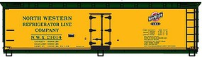 Accurail 40 Wood Reefer Kit NWX HO Scale Model Train Freight Car #12269