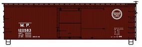 Accurail 36 Double Sheathed Wood Boxcar Missouri Pacific HO Scale Model Train Freight Car #1303