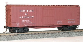 Accurail 36 Double Sheathed Wood Boxcar Boston & Albany HO Scale Model Train Freight Car Kit #1306