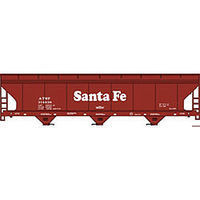Accurail 47 ACF 3-Bay Center-Flow Covered Hopper Kit Santa Fe HO Scale Model Train Freight Car #20024