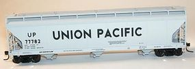 Accurail 47 3-Bay Center Flow Covered Hopper Kit Union Pacific HO Scale Model Train Freight Car #2005