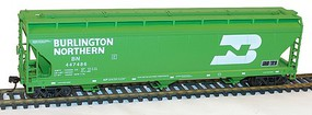 Accurail ACF Covered 3 bay Hopper Burlington Northern Kit HO Scale Model Train Freight Car #20152