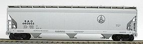 Accurail 47 3-Bay Center Flow Covered Hopper Baltimore & Ohio HO Scale Model Train Freight Car #2022