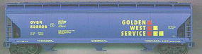 Accurail 47 3-Bay Covered Hopper Golden West Service Kit HO Scale Model Train Freight Car #2032