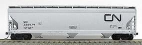 Accurail 47 3-Bay Center Flow Covered Hopper Canadian National HO Scale Model Train Freight Car #2046
