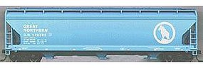 Accurail 47 3-Bay Center Flow Covered Hopper - Great Northern HO Scale Model Train Freight Car #2057