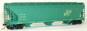 Accurail 47 3-Bay Center Flow Covered Hopper Kit Chicago & NW HO Scale Model Train Freight Car #2083