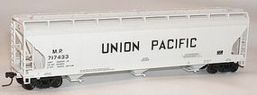 Accurail ACF 3-Bay Hopper Union Pacific MP Kit HO Scale Model Train Freight Car #2101