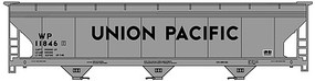Accurail ACF Covered Hopper Kit Union Pacific WP 11846 HO Scale Model Train Freight Car #2106