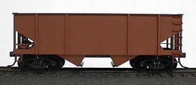 Accurail Canton Car Co.-Built 55-Ton 2-Bay Hopper Undecorated HO Scale Model Train Freight Car #2300