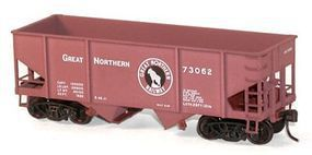 Accurail 55-Ton 2-Bay Hopper Great Northern HO Scale Model Train Freight Car #23013