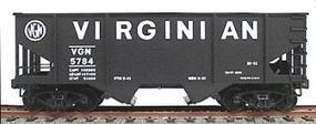 Accurail 55-Ton 2-Bay Hopper Kit Virginian HO Scale Model Train Freight Car #2303