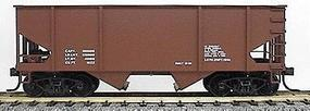 Accurail Great Northern 2-Bay Hopper - Data Only (Mineral Red) HO Scale Model Train Freight Car #2398
