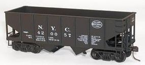 Accurail 2-Bay 55-Ton Open Hopper Kit New York Central #420057 HO Scale Model Train Freight Car #24091
