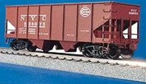Accurail 2-Bay 55-Ton Open Hopper - Kit - New York Central HO Scale Model Train Freight Car #2504