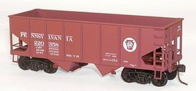 Accurail 55 Ton USRA Twin Hopper Pennsylvania RR Kit HO Scale Model Train Freight Car #25069