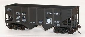 Accurail USRA 55 Ton Twin Hopper Berwind Kit HO Scale Model Train Freight Car #25171