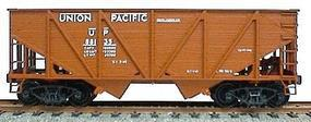 Accurail 55-Ton Wood Side Twin Hopper - Union Pacific (Oxide) HO Scale Model Train Freight Car #2710