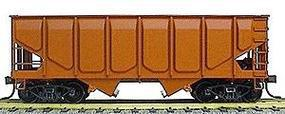 Accurail Undecorated 55-Ton Panel Side Twin Hopper HO Scale Model Train Freight Car #2800
