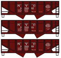 Accurail 55T Twin Hopper NYC 3/
