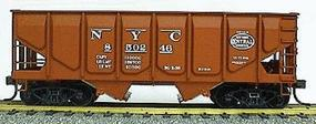 Accurail 55-Ton Panel Side Coal Hopper New York Central HO Scale Model Train Freight Car #2861